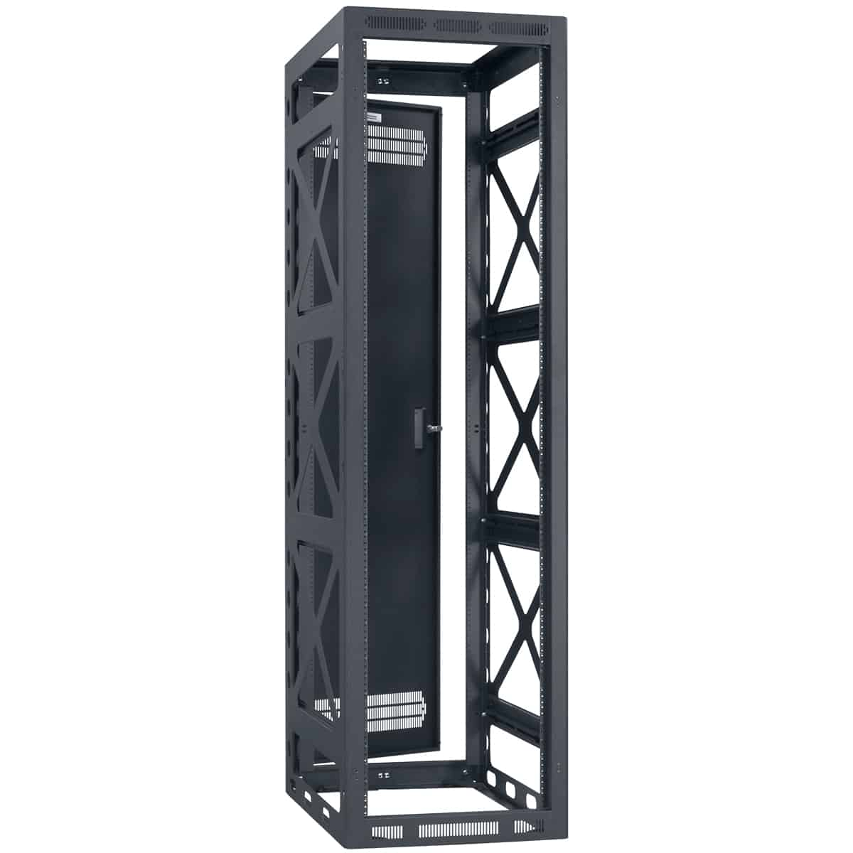 "22"" D Seismic Certified Gangable Rack"