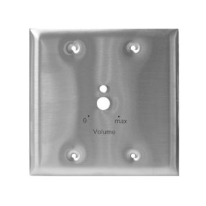 wall plate for mic