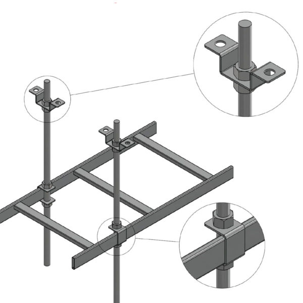 CLH-CK: Ceiling-Mount Kit