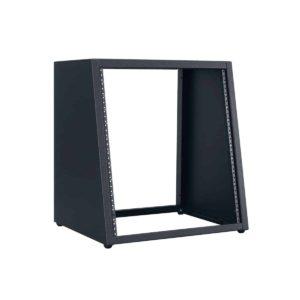 angled equipment rack