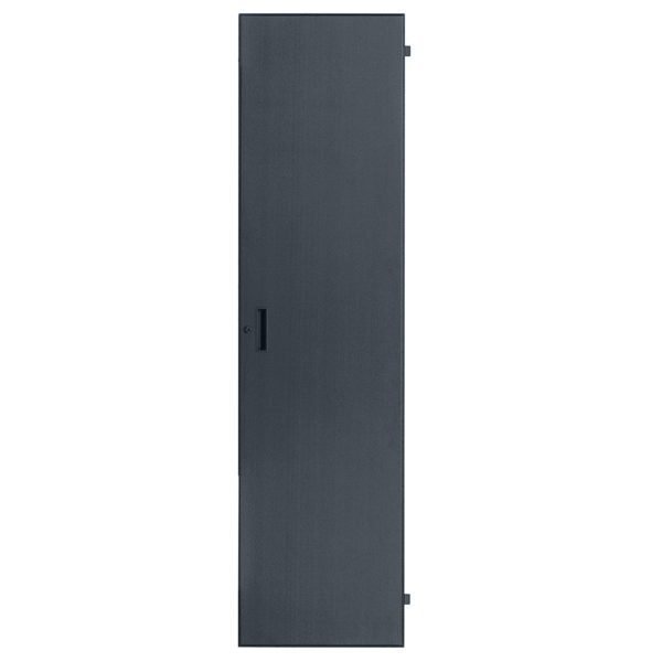 LXR-FD Series:  Solid Door for Slim Racks