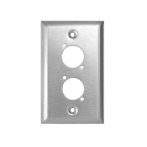 punched wall plate